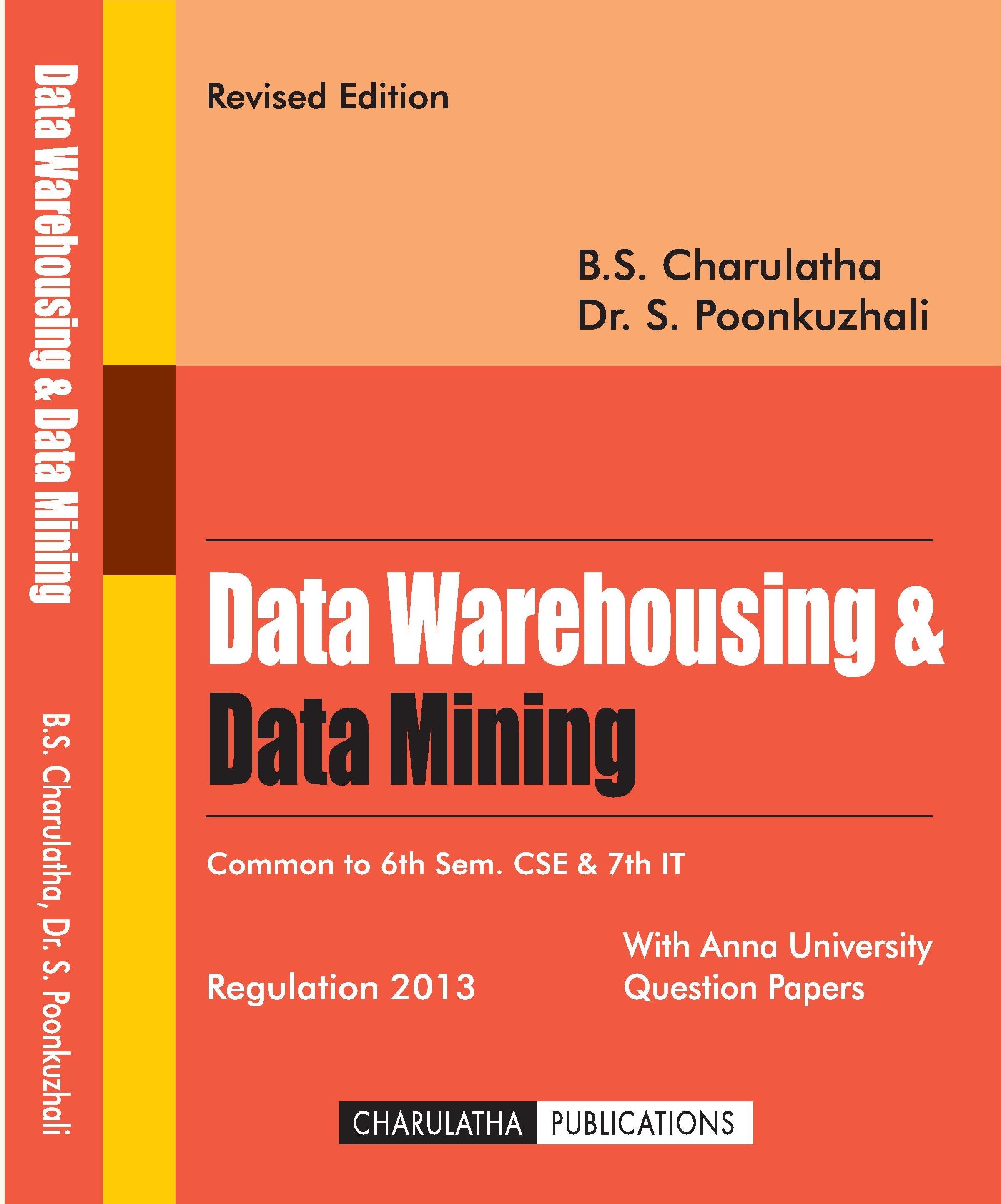 Charulatha Publications-Data Mining & Data Warehousing