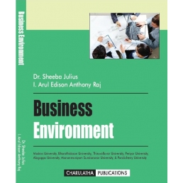 BUSINESS ENVIRONMENT (ISBN-13: 978-93-5267-744-3)