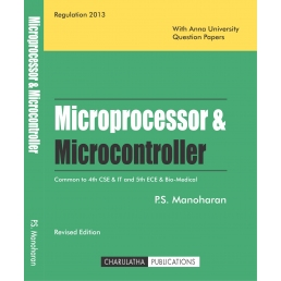 Microprocessors & Microcontrollers (ISBN-13:978-81-933409-1-2)